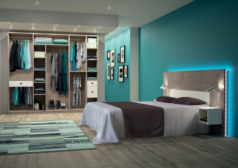 les dressings catalogues amnagements kazed les. Black Bedroom Furniture Sets. Home Design Ideas